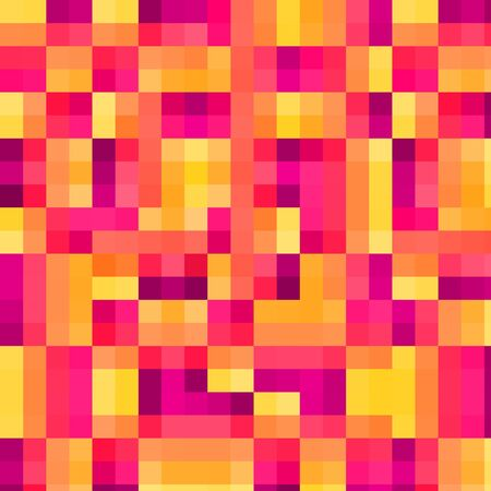 Trendy graphic design element background in pinks, purples and oranges.  写真素材