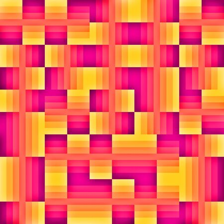 Trendy graphic design element background in pinks, purples and oranges.  Stock Photo
