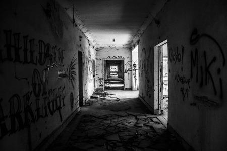 abandoned: landscape abandoned ship La Felguera Asturias Spain
