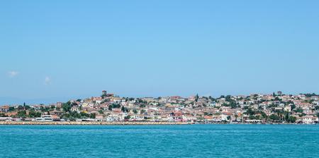 Cunda Island sea view, Ayvalik, Alibey Adasi, Turkey
