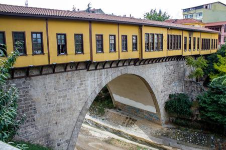 Historic Irgandi Bridge, Bursa, Turkey