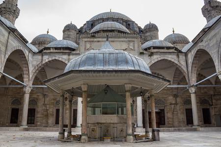 Sehzade Mosque 16th century, Old Ottoman Turkish architecture. Architect Sinan (?Architect Sinan Sin) or Architect Koca Sinan (? Great Architect Sinan Sin) Fatih District, Istanbul Turkey