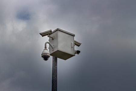 Cctv security cameras Stok Fotoğraf