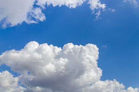 Blue sky summer and clouds background 版權商用圖片