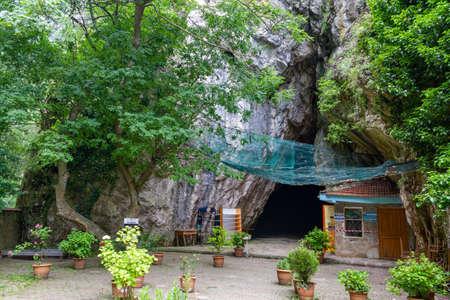 Oylat, Bursa / Turkey - June 26 2020: Oylat Cave exterior view