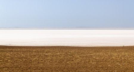 Salt Lake (Tuz Golu) Sereflikochisar, Ankara, Turkey