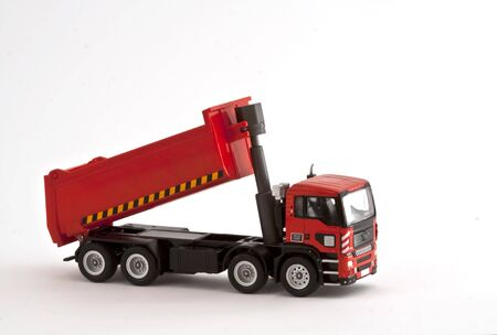 red toy truck photo