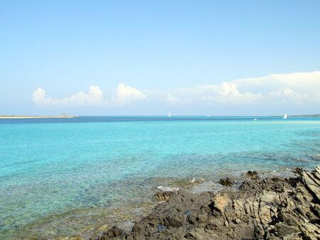 rotondo: Sardinia Shoreline Beautiful Coast