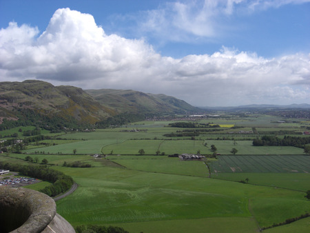 View from the National Wallace Monument photo