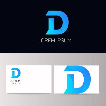 d mark: D letter sign design