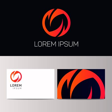 logotype: Abstract vector logotype Illustration