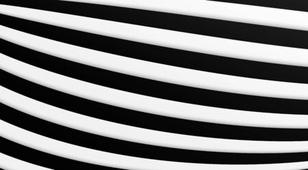 Abstract stripped lines vector background. Optical illusion effect.