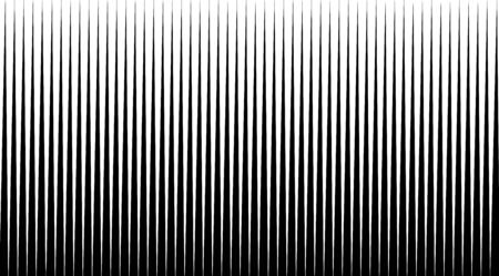Halftone background with stripped black and white lines. Optical illusion art vector design. 向量圖像
