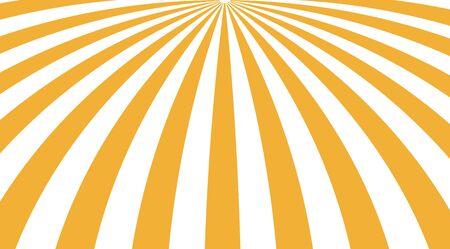 Fond de vecteur de brillance de soleil abstrait. Motif à rayures soleil.