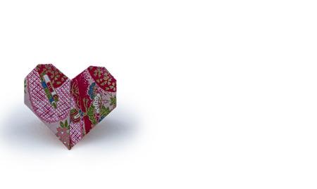 Origami Heart 版權商用圖片