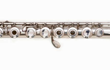 flauta: Cuerpo de plata flauta