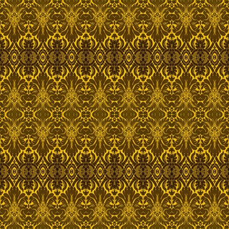 Vintage Wallpaper Pattern Фото со стока