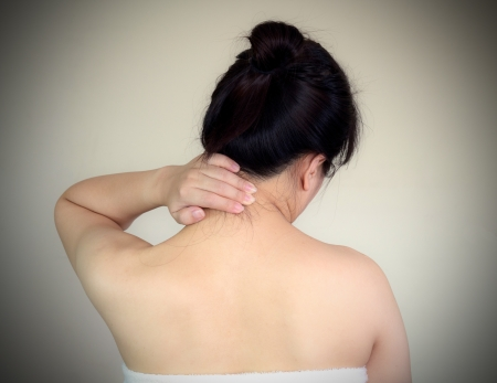 Neck pain exercise or hard work  Should rest  photo
