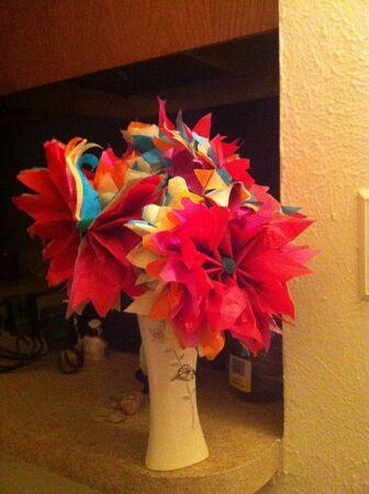 Mijn handgemaakte bloemen