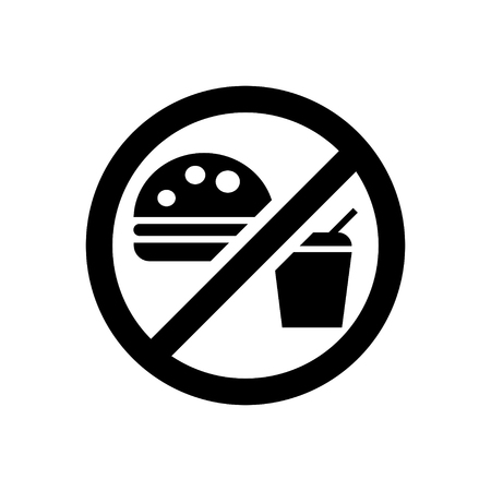 no food: No Food Sign Illustration