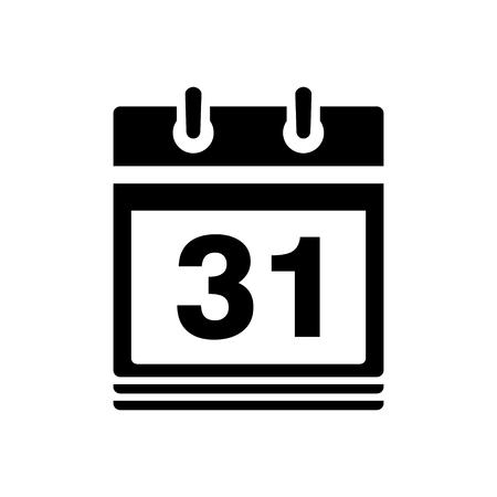 date: calendar date - day 31