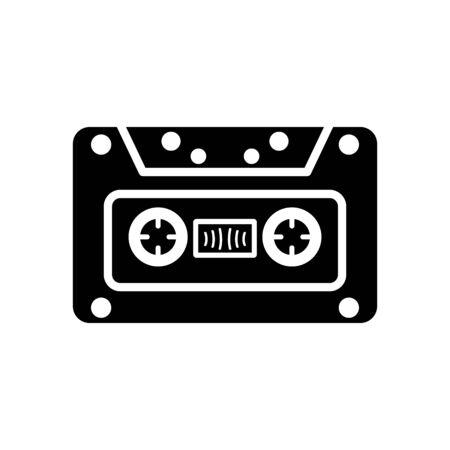 casette: Audiocassette icon