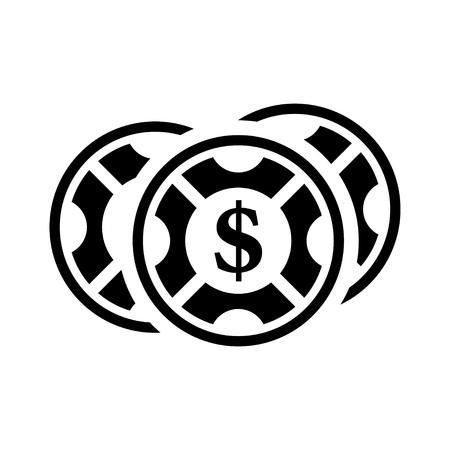 wheel of fortune: casino   icon Illustration