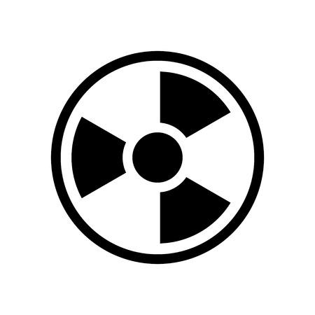 uranium: radioactive  icon Illustration