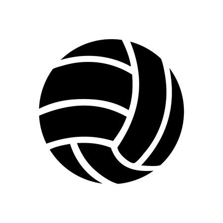 voleibol: icono de voleibol Vectores