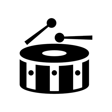 drumming: Snare Drum Icon