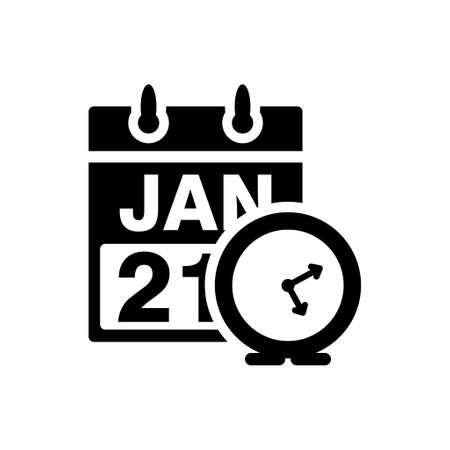 calendar icon: calendar time management icon Illustration