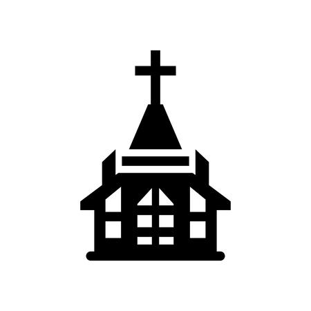 the church: icono de la iglesia Vectores