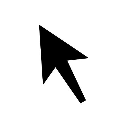 pointer: Mouse cursor sign icon. Mouse pointer symbol