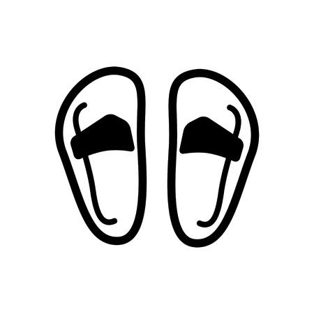 sandalia: icono de la sandalia