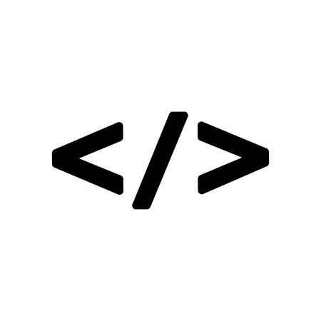 html code icon Illustration