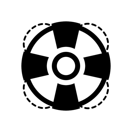 lifebuoy: lifebuoy   icon Illustration
