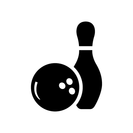 bowling sport: bowling game