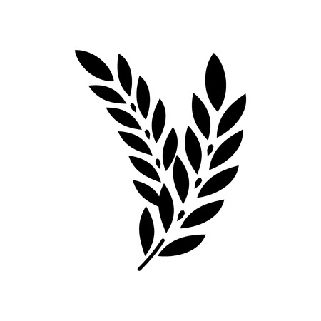 wheat illustration: Gluten free icon