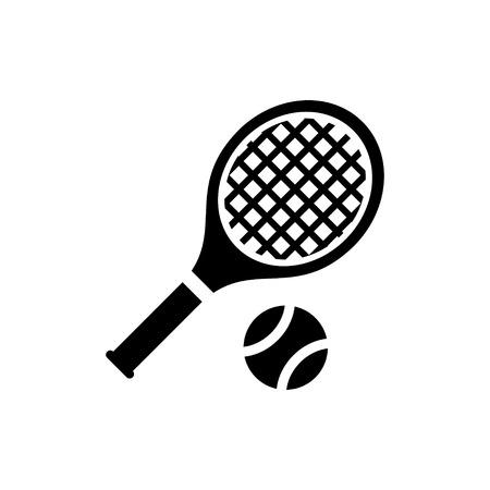raqueta de tenis: icono del tenis