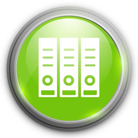 case binder: binders icon Illustration