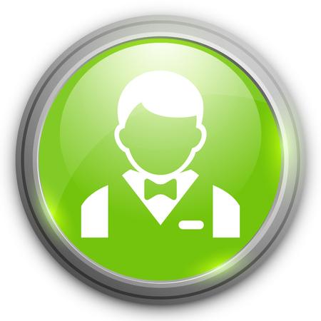 busboy: busboy   icon Illustration
