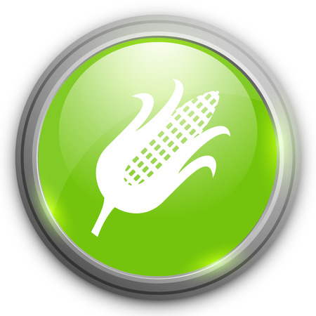 corncob: corn icon Illustration