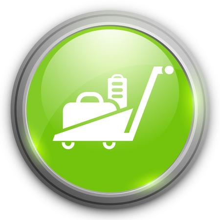 trolley: luggage  trolley  icon