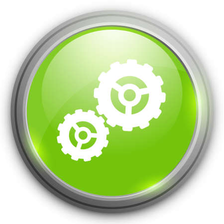 cogs: settings cogs  icon Illustration