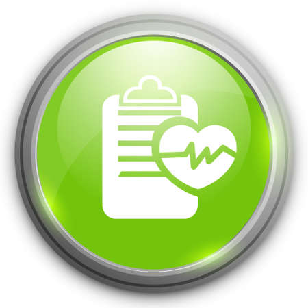 information icon: cardiology  report   icon Illustration