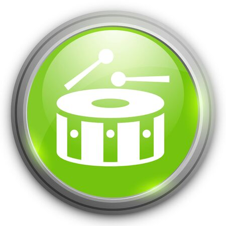 drumset: Snare Drum Icon