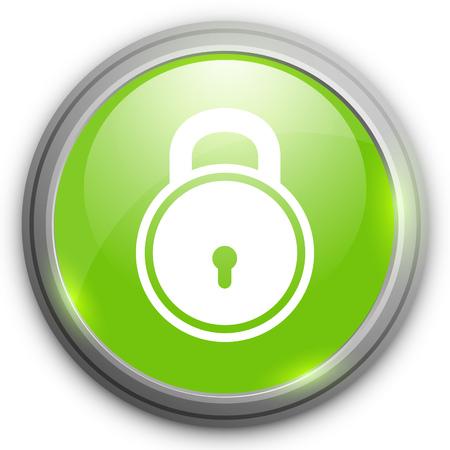 padlock icon: padlock icon. Login sign