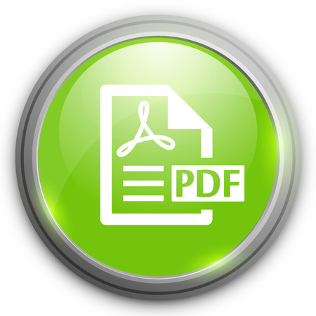 pdf: PDF file document icon. Download pdf button