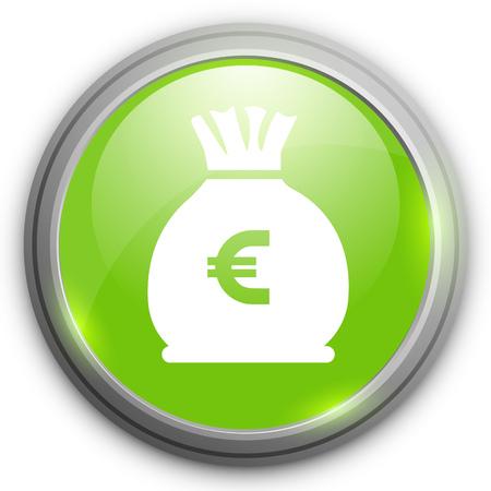 oney: euro oney bag icon
