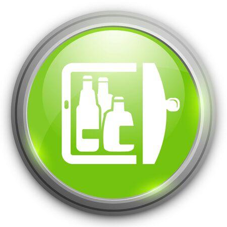 mini bar: refrigerator icon